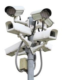 CCTV camera cluster image