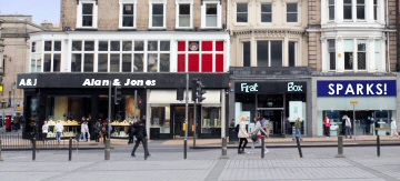 High steet retailing image
