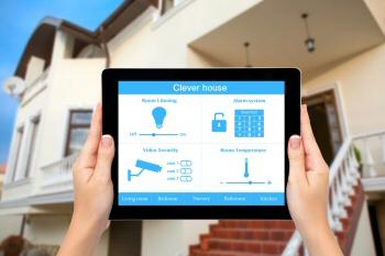 Smart house control app