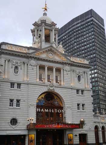 Victoria Palace facade