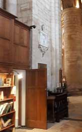 Tewkesbury Abbey interior camera