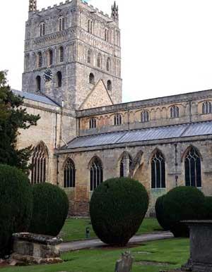 Tewkesbury Abbey exterior