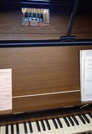 Tewkesbury Abbey organ detail