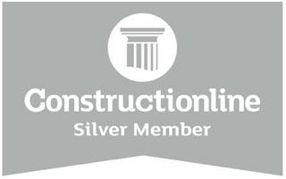 Constructionline - Silver logo